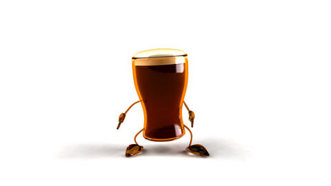 beer jump Animation