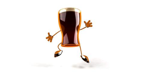 beer jump Stock Video Footage