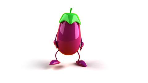eggplant bow Stock Video Footage
