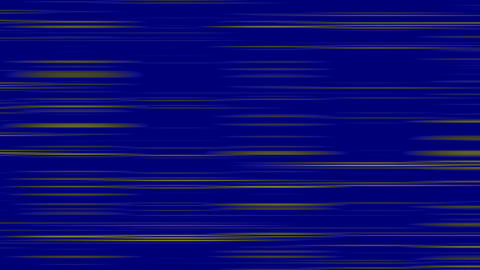 Looping animation of blue and yellow horizontal lines... Stock Video Footage