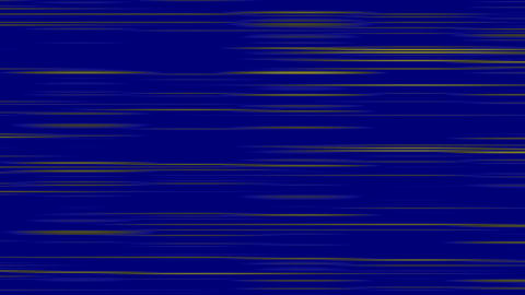 Looping animation of blue and yellow horizontal lines oscillating Animation