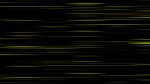 Looping animation of black and yellow horizontal lines... Stock Video Footage