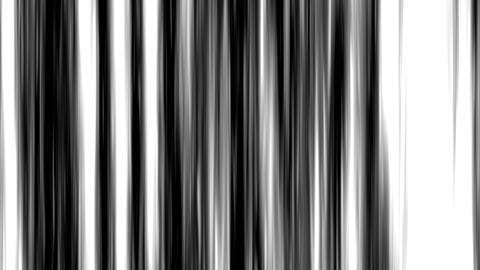 Looping animation of black and white vertical lines... Stock Video Footage
