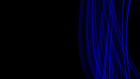 Looping animation of blue light rays Stock Video Footage