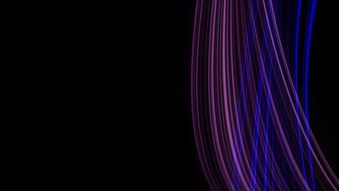 Looping animation of purple and blue light rays Animation