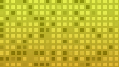 Looping animation of green and yellow colored tiles... Stock Video Footage