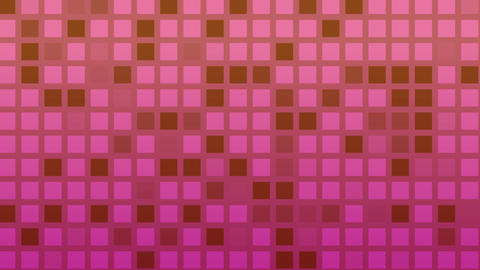 Looping animation of red and purple colored tiles change... Stock Video Footage