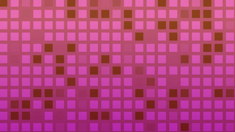 Looping animation of red and purple colored tiles change color and pattern Animation