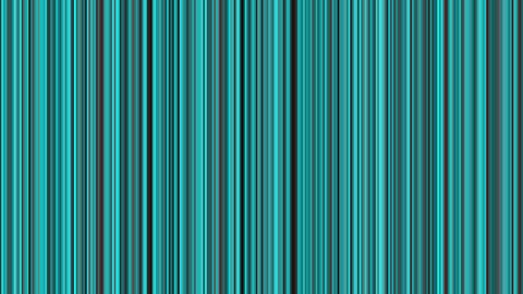 Looping animation of black and aqua vertical lines... Stock Video Footage
