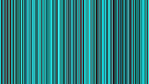 Looping animation of black and aqua vertical lines oscillating Animation
