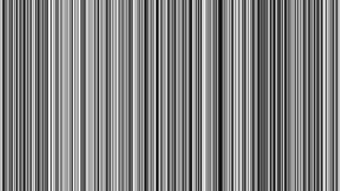 Looping animation of black, gray, and white vertical lines oscillating Animation