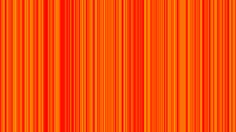 Looping animation of orange and yellow vertical lines oscillating Animation