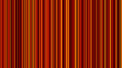 Looping animation of black, red and yellow vertical lines... Stock Video Footage
