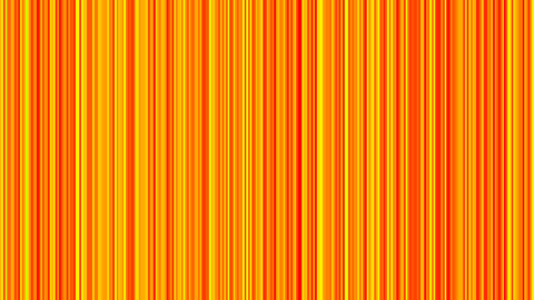 Looping animation of orange and yellow vertical li Animation