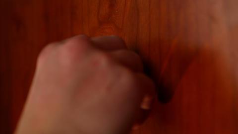 door eye 02 Stock Video Footage