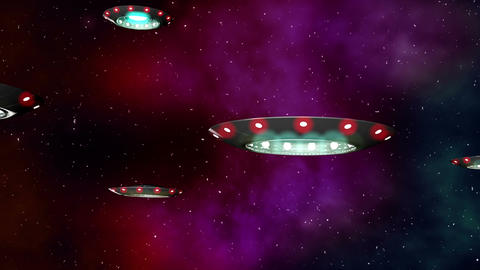 UFO Earth Invasion 1 Animation