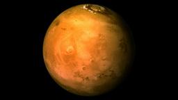 Mars planet Animation
