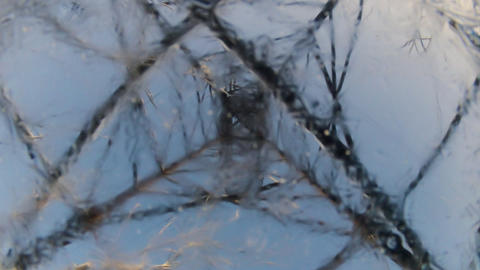 Freezing Water stock footage