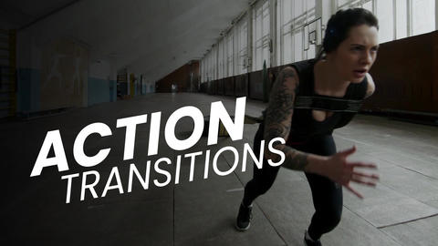 Action Transitions Presets After Effectsアニメーションプリセット