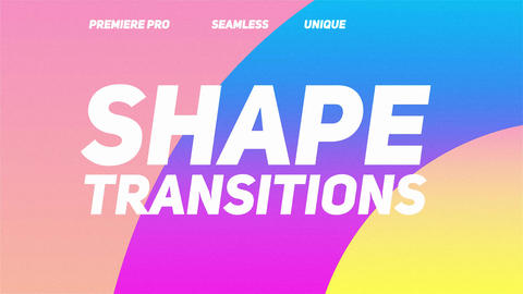 Shape Transitions Plantillas de Premiere Pro