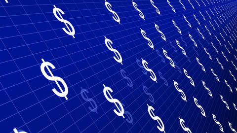 Dollar signs moving animation Animation