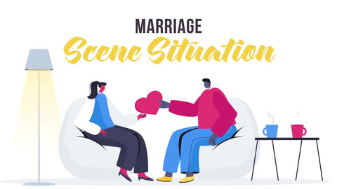 Marriage - Scene Situation After Effects Template