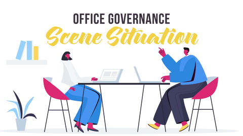Office governance - Scene Situation After Effects Template