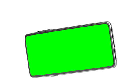 Smartphone with green screen Animation