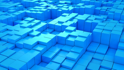 Background of Cubes Videos animados