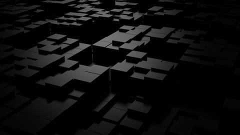 Background of Cubes CG動画