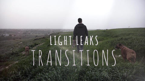 10 Light Leaks Transitions for Premiere Pro