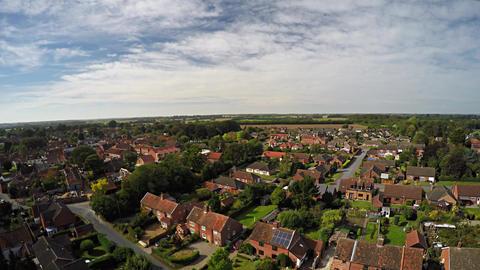Spring Over England Neighborhood 4k Live Action