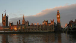 Palace Of Westminster, London Footage
