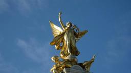 Victoria Memorial, London Footage