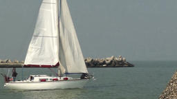 Boat sailing Footage