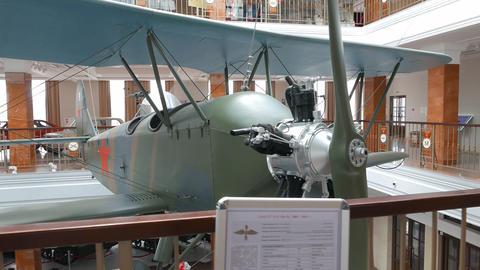 Aircraft U-2 (Po-2). Pyshma, Ekaterinburg, Russia Footage