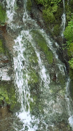 Waterfall, Nagano Prefecture Footage