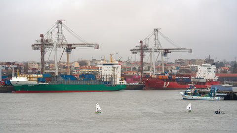 Port of Leixoes, Portugal フォト