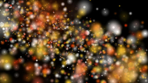 Futuristic video animation with light particles in motion, loop HD Animation