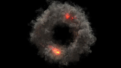 Fire Swirl Animation