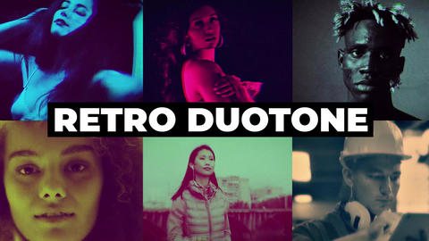 Retro Duotone Effects