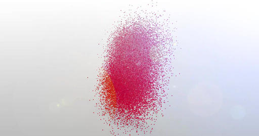 Love. Particle Logo. Text Animation Videos animados