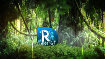 Rainy Forest(Style 2) After Effects Template