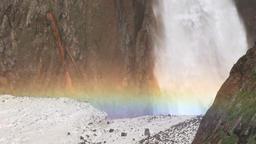 Shomyo Falls, Toyama Prefecture, Japan Footage