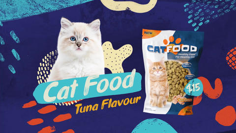Pet Food Slideshow After Effects Template
