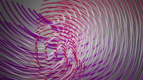 Wonderful video animation with moving particle stripe object, loop HD Animation