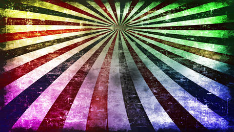 Fantastic video animation with changing colors on grunge background, loop HD Animation