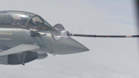 Military Aircraft Air Refueling Live Action