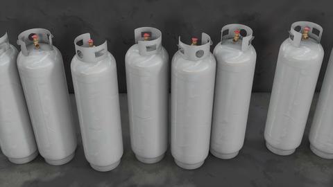 3d animation, Propane gas tank Animation
