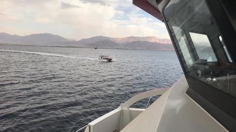 Eilat, Israel - sea walk before the rain part 2 Live Action